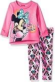 Disney Girls' Minnie Mouse 2-Piece Fleece Legging Set