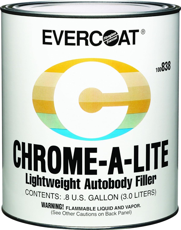Evercoat 838 Chrome-A-Lite Body Filler - Gallon Fibreglass Evercoat