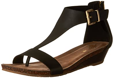 b778639d633d Reaction Kenneth Cole Great GAL T-Strap Wedge Black