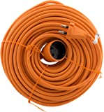 Zenitech - Prolongateur 16A HO5VV-F 2x1,5 Orange 50m