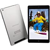 2016 Newest NuVision 8-inch Full HD (1920 x 1200) IPS Touchscreen Tablet PC, Intel Atom Z3735F Quad-Core Processor, 2GB RAM, 32GB SSD eMMC, Webcam, WIFI, Windows 10, Silver(US Version, Imported)