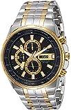 Casio Edifice Analog Black Dial Men's Watch - EFR-549SG-1AVUDF (EX258)