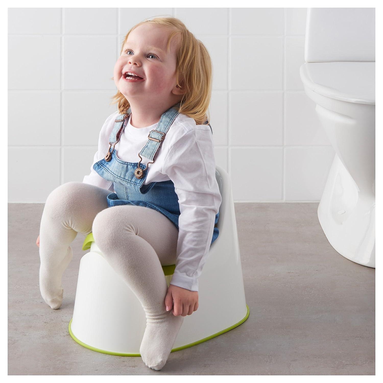 green white Children-s potty green IKEA LOCKIG