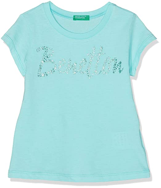 46c0dc4a9 United Colors of Benetton Niñas T-Shirt Camiseta Not Applicable ...