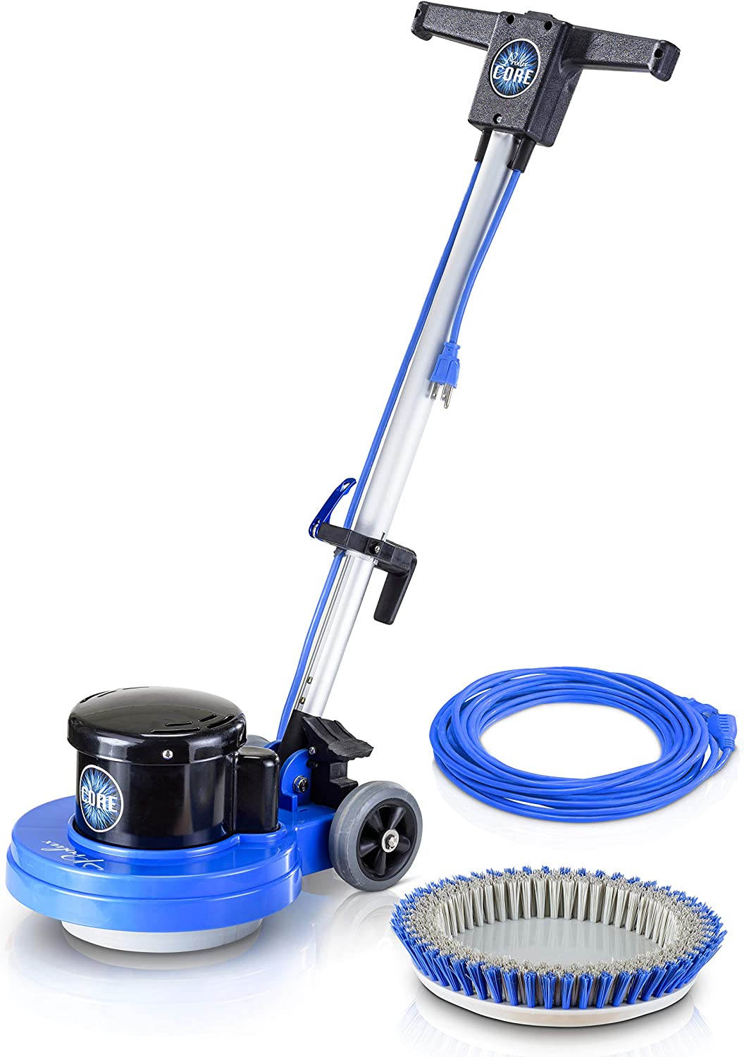 Prolux Core Heavy Commercial Polisher Floor Buffer Machine w// all Pads