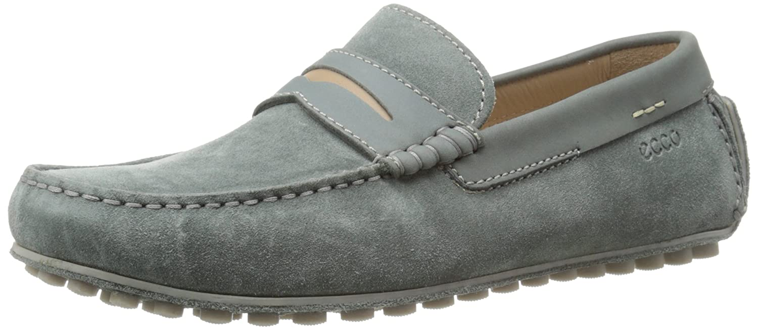 6fc17cef Amazon.com | ECCO Men's Dynamic Suede Penny Loafer | Loafers & Slip-Ons