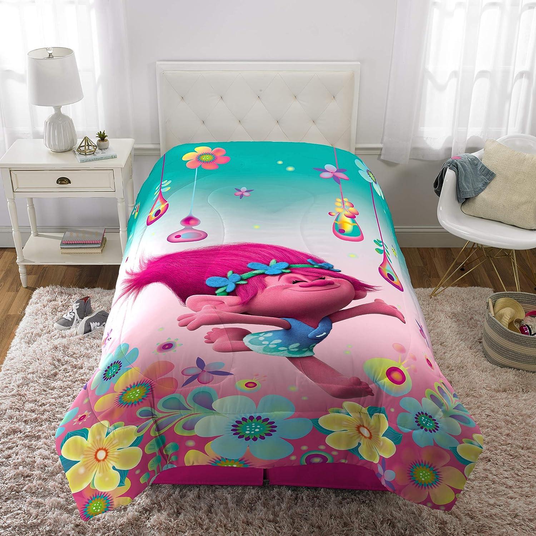 Trolls DreamWorks Life Reversible Comforter, Twin/Full