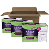Always Discreet Incontinence & Postpartum Underwear for Women, Disposable, Maximum Absorbency, Small/Medium, 57 Count (Packaging May Vary)