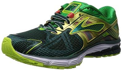 b5aea11e799 Brooks Ravenna 6 Mens Running-Shoes 1101861D313 7.5 - Junebug FERNGREEN  LIMEPUNCH