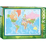 Eurographics EG60001271 Map of the World Puzzle (1000 Pieces)
