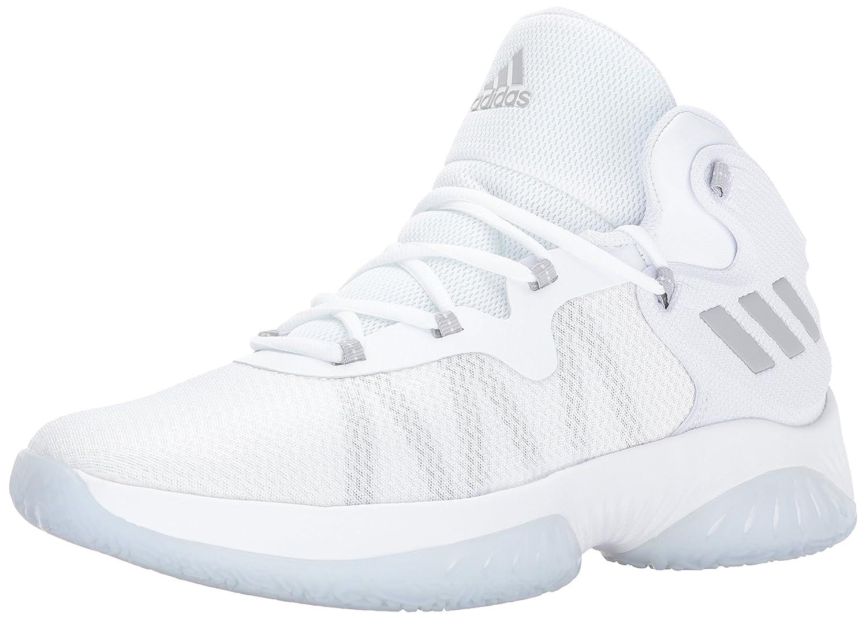 Adidas Hombres Explosive Bounce Niedrig & Mid Tops Schnuersenkel Basketball Schuhe
