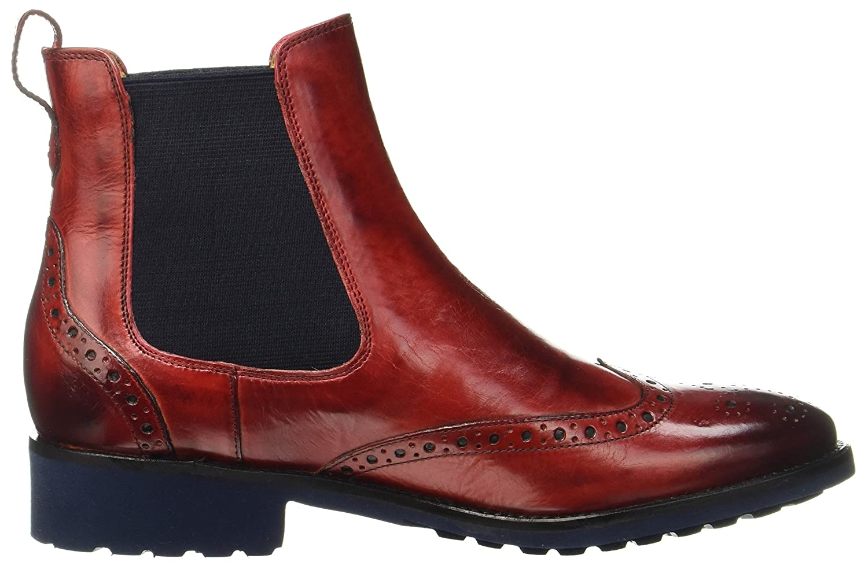 MELVIN & HAMILTON MH HAND MADE Schuhe 5 OF CLASS Damen Amelie 5 Schuhe Chelsea Stiefel Rot (ROT) 1226c5