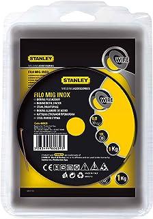 Stanley 460639 - Bobina de hilo de acero inoxidable (para soldadura MIG, 0,