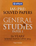 16 Years' Solved Papers General Studies Paper I