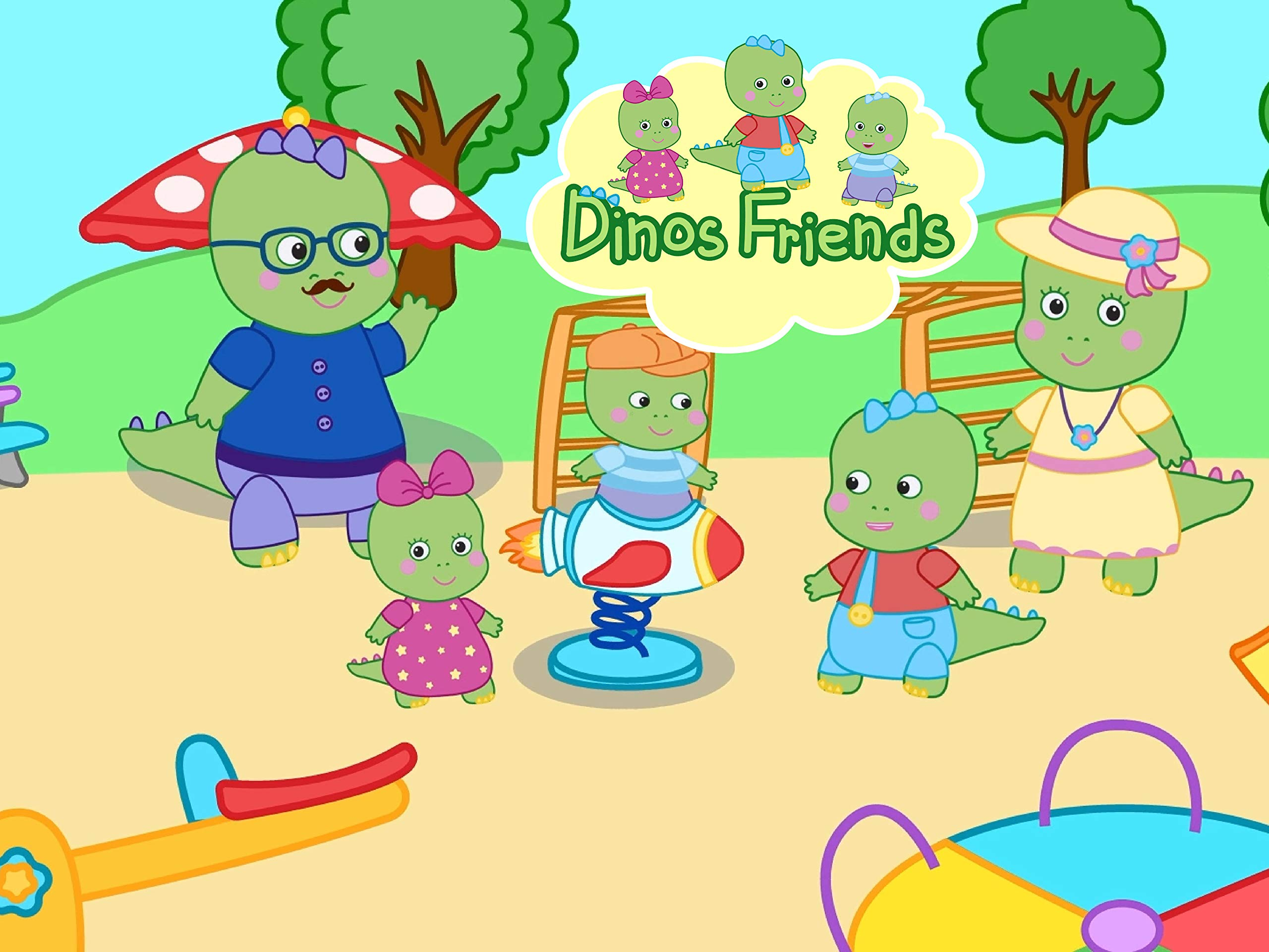 Clip: Dinos Friends - Season 1