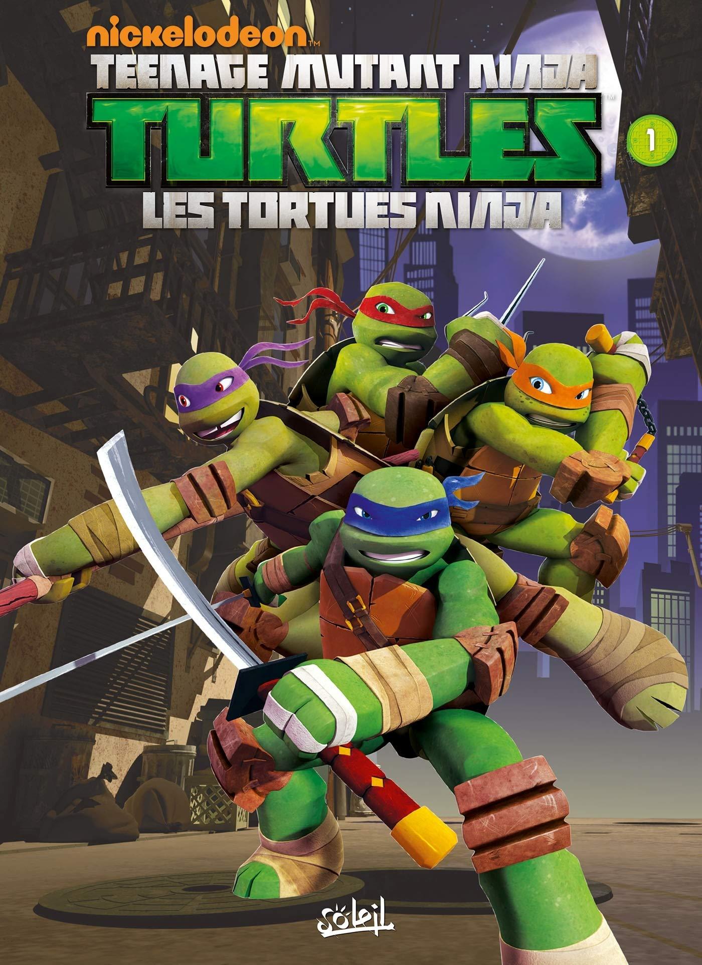 TMNT - Les Tortues Ninja T1 - Premiers Pas SOL.JEUNESSE ...