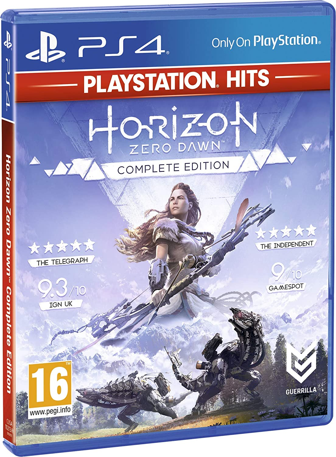 Horizon Zero Dawn Complete Edition PlayStation HITS - PlayStation ...