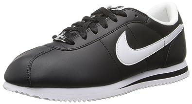 Nike Cortez Black White Leather