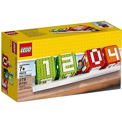 LEGO Iconic Brick Calendar 278pieza(s) Juego de construcción - Juegos de construcción (7 año(s), 278 Pieza(s)): Juguetes y juegos