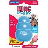 KONG Puppy Durable Rubber Chew and Treat Dog Toy - Medium, Assorted