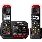 Panasonic KX-TGM422AZB Amplified Digital Cordless Phone with Answering Machine