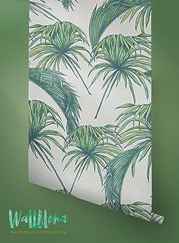 Papier Peint Motif Tropical Exotique Amovible Papier Peint Papier