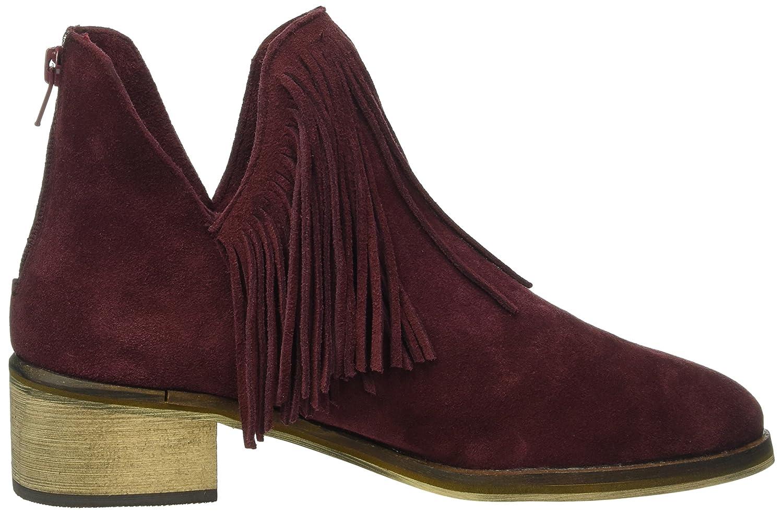 Vero Moda Vmlaure Leather Boot, Zapatillas de Estar Por Casa Para Mujer, Morado, 37 EU