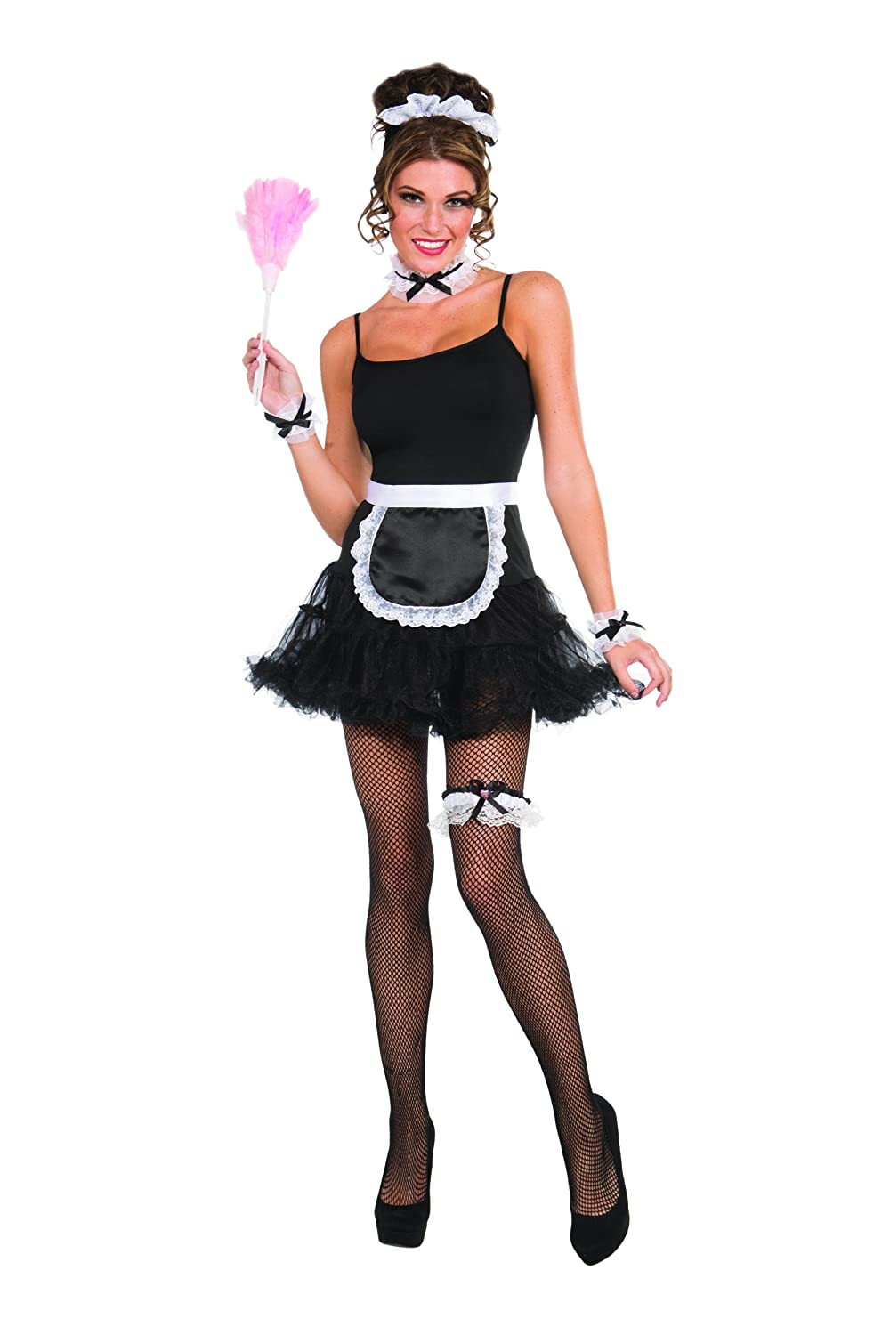 amazoncom french maid accessory kit clothing - Accessories For Halloween Costumes