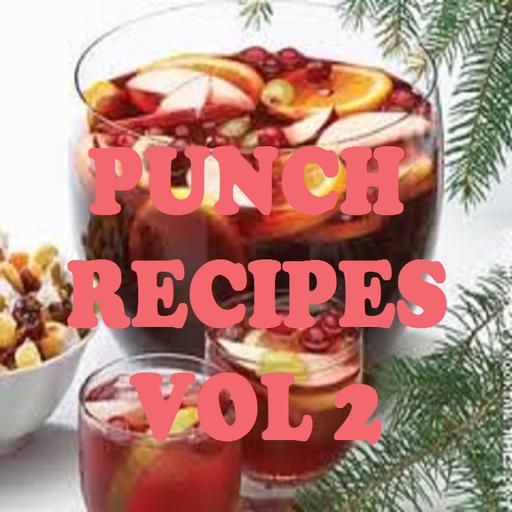 Punch Recipes Cookbook Vol 1 -
