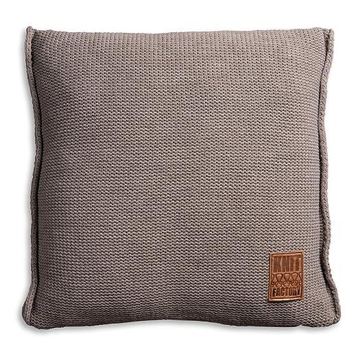 Knit Factory 1131229 cojín Decorativo de Punto Funda de ...