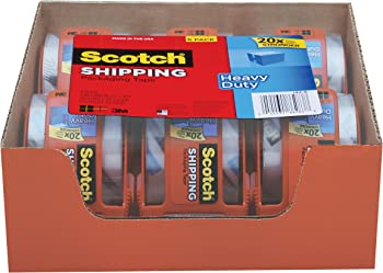 6-Count Scotch Heavy Duty Shipping Packaging Tape