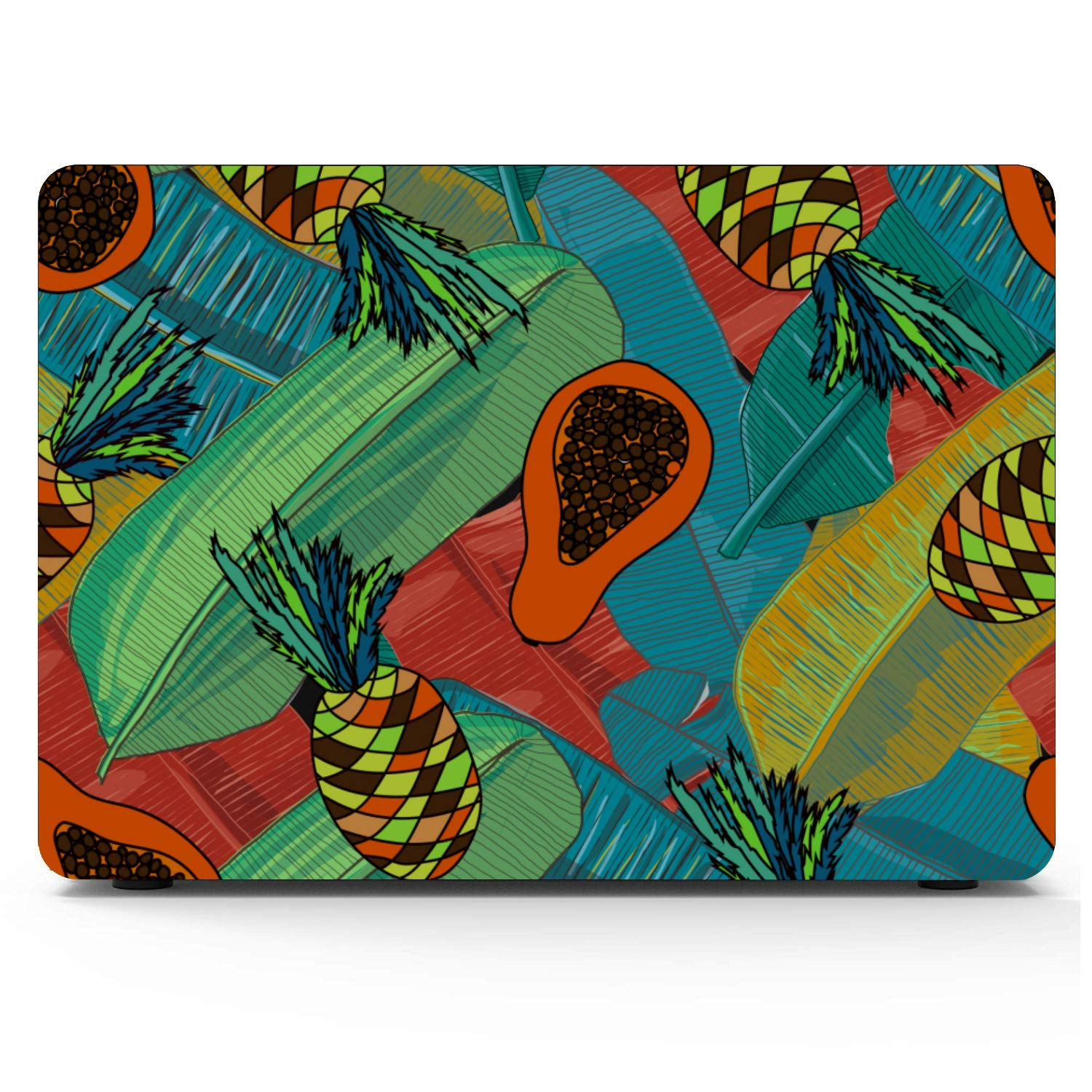 MacBook Pro Case 2015 Summer Fashion Cool Fruit Papaya Plastic Hard Shell Compatible Mac Air 11 Pro 13 15 A1466 Case Protection for MacBook 2016-2019 Version