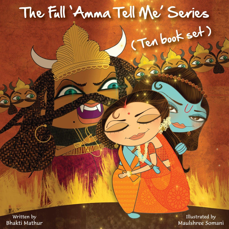 The Full Amma Tell Me Series: Ten Book Set by Anjana Publishing