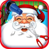 dentist games - Christmas Hair Salon - Santa's Barbershop & Kids Cuts FREE!
