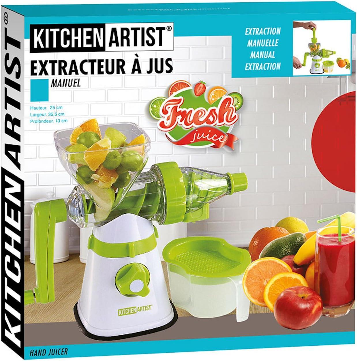 Compra Kitchen Artist Licuadora Manual Cortador en Espiral Mano ...