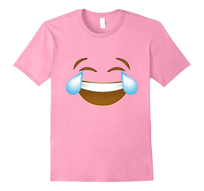 Halloween Laugh Emoji's Cute Adults Kid's Costume T-shirt-T-Shirt
