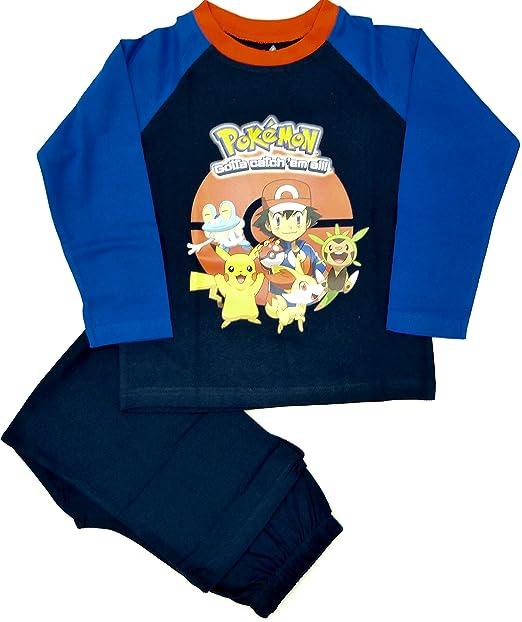 """Pijama, diseño con personajes del juego de ordenador """"Pokemon Go"""""""
