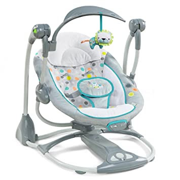 Baby Bright Starts Hug A Bear Portable Swing Baby Rocker Chair Baby Gear