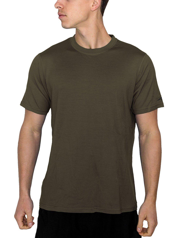 Woolx Outback - Men's Merino Wool T-Shirt - Lightweight - Wicks Away Moisture X302