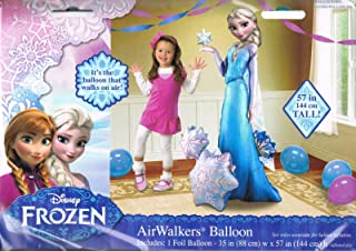 Disney Frozen Elsa Airwalker 57' Birthday Party Jumbo Balloon Decoration