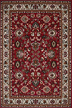Kayoom Moderne Tapis Iran Shiraz 280cm X 370cm Rouge 100
