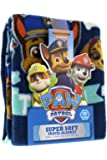 "Paw Patrol Super Comfy & Soft Travel Blanket/Throw with PAWfect Team Design 40"" x 50"""