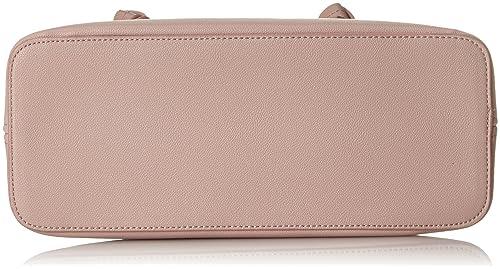 Damen 038ea1o029 Henkeltasche, Pink (Light Pink), 13x31x34 cm Esprit