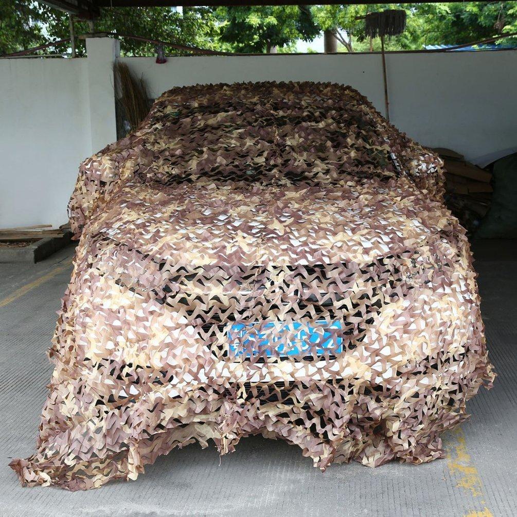 Gugutogo - Red de camuflaje militar para caza, mallas de malla para coche