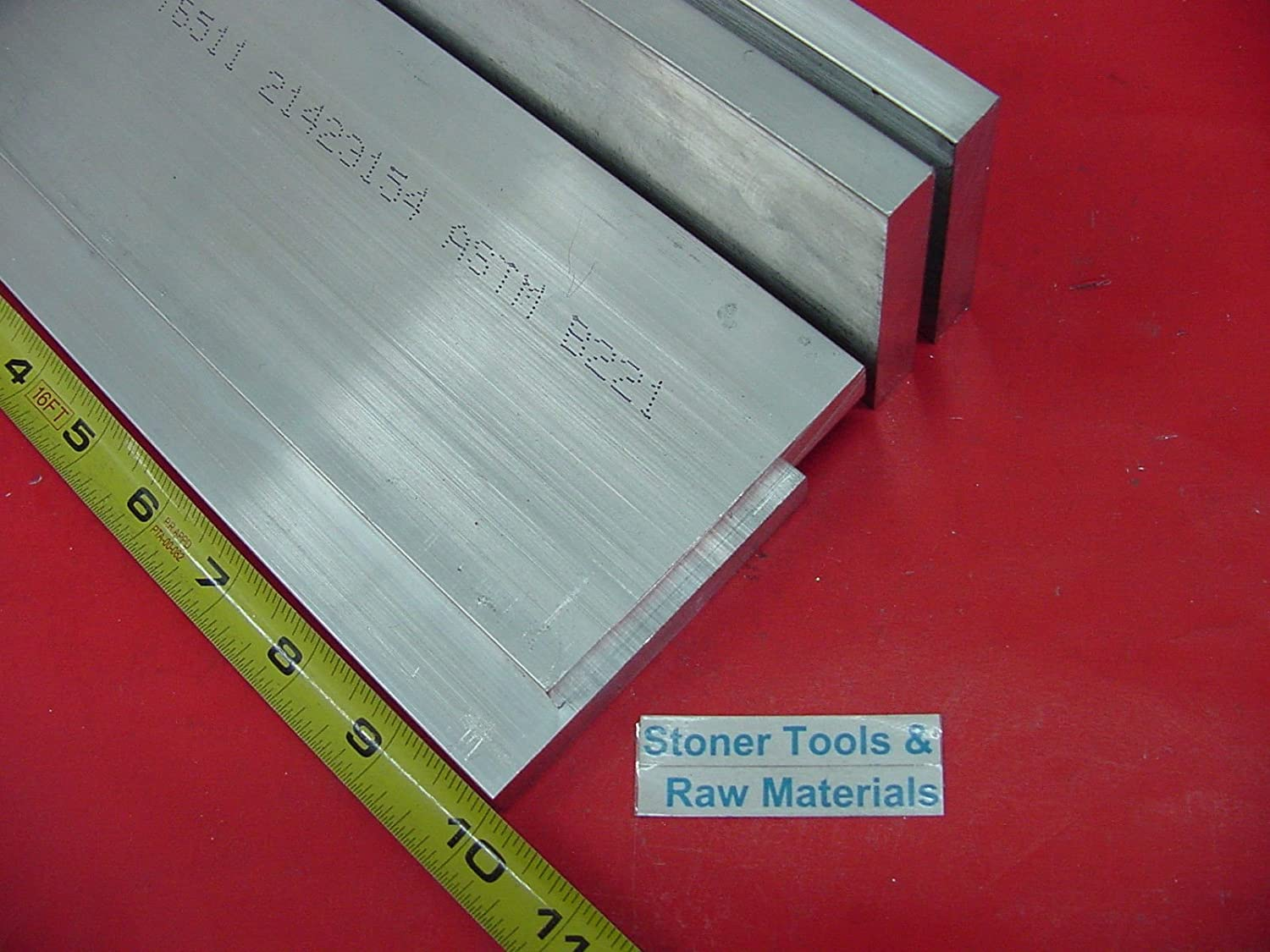 "4 Pieces 3//8/"" X 5/"" ALUMINUM 6061 FLAT BAR 24/"" long T6511 .375/"" PLATE Mill Stock"