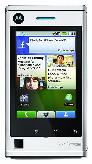 amazon com motorola devour white 8gb verizon wireless cell rh amazon com Motorola A555 Devour Android Manual Unlocked Motorola Devour