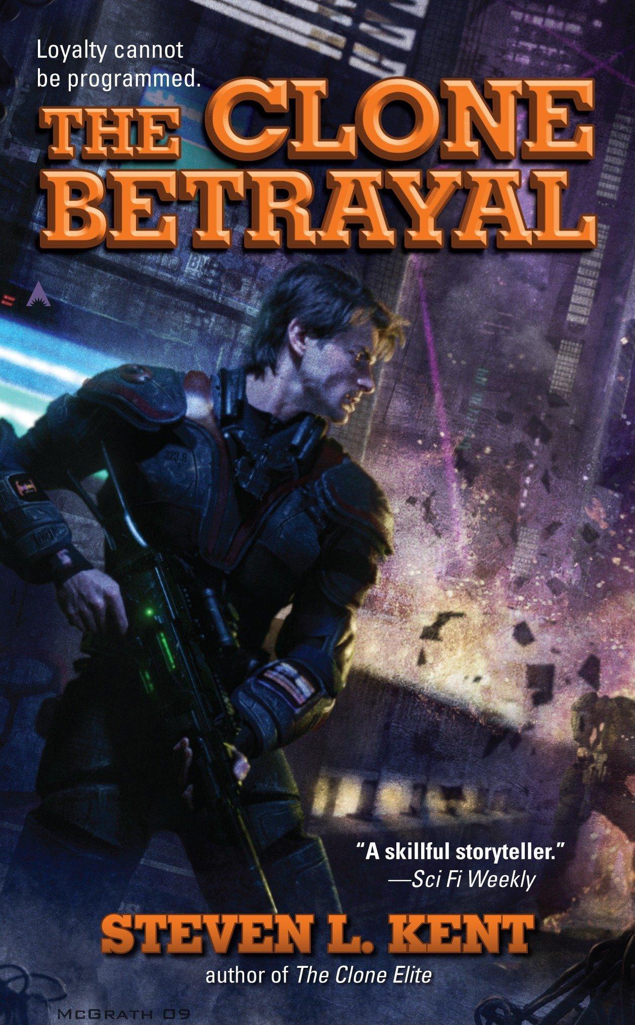 Read Online The Clone Betrayal (A Clone Republic Novel) PDF
