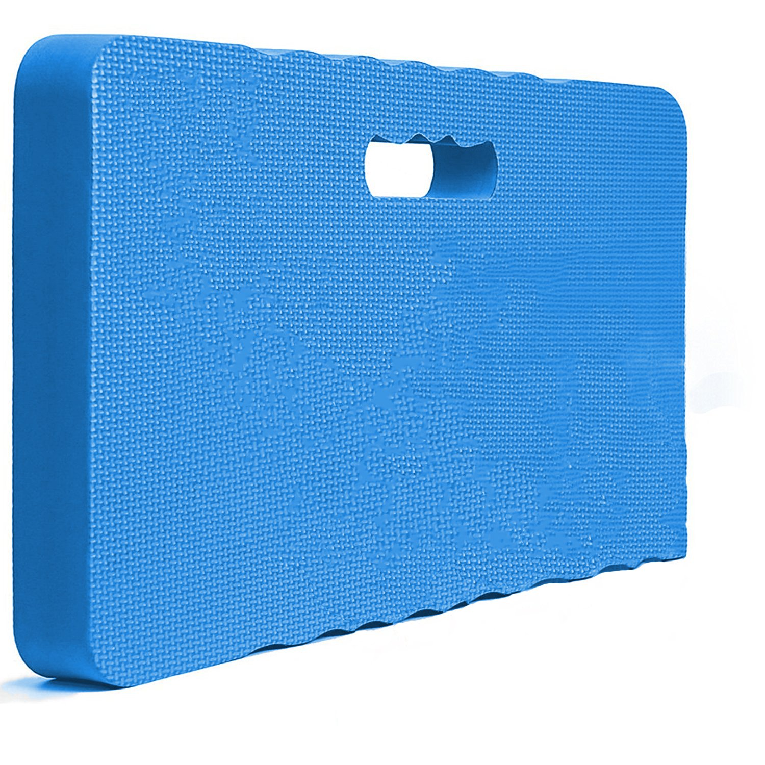 Thick Kneeling Pad - Garden Kneeler for Gardening, Bath Kneeler for Baby Bath, Kneeling Mat for Exercise & Yoga Portable Kneeling Cushion Pad - 18'' X 10'' X 1.6'' - Blue
