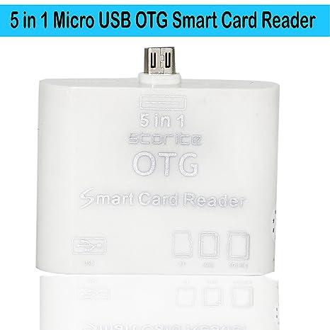 Amazon In Buy Storite 5 In 1 Micro Usb Otg Card Reader Sd Hc M2