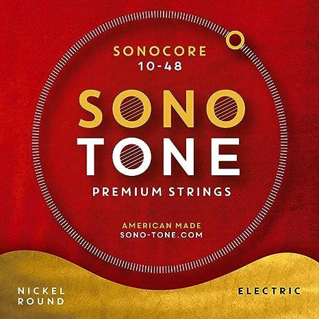 SonoTone SONOCORE - Cuerdas para guitarra eléctrica (10-48)
